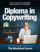 Copywriting course brochure