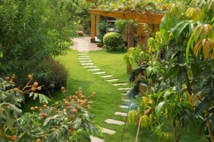 design beautiful gardens as a garden designer