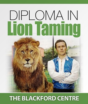 Lion Taming course brochure