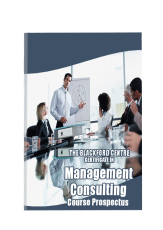 Management Consulting Course brochure