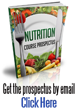 Nutrition course brochure