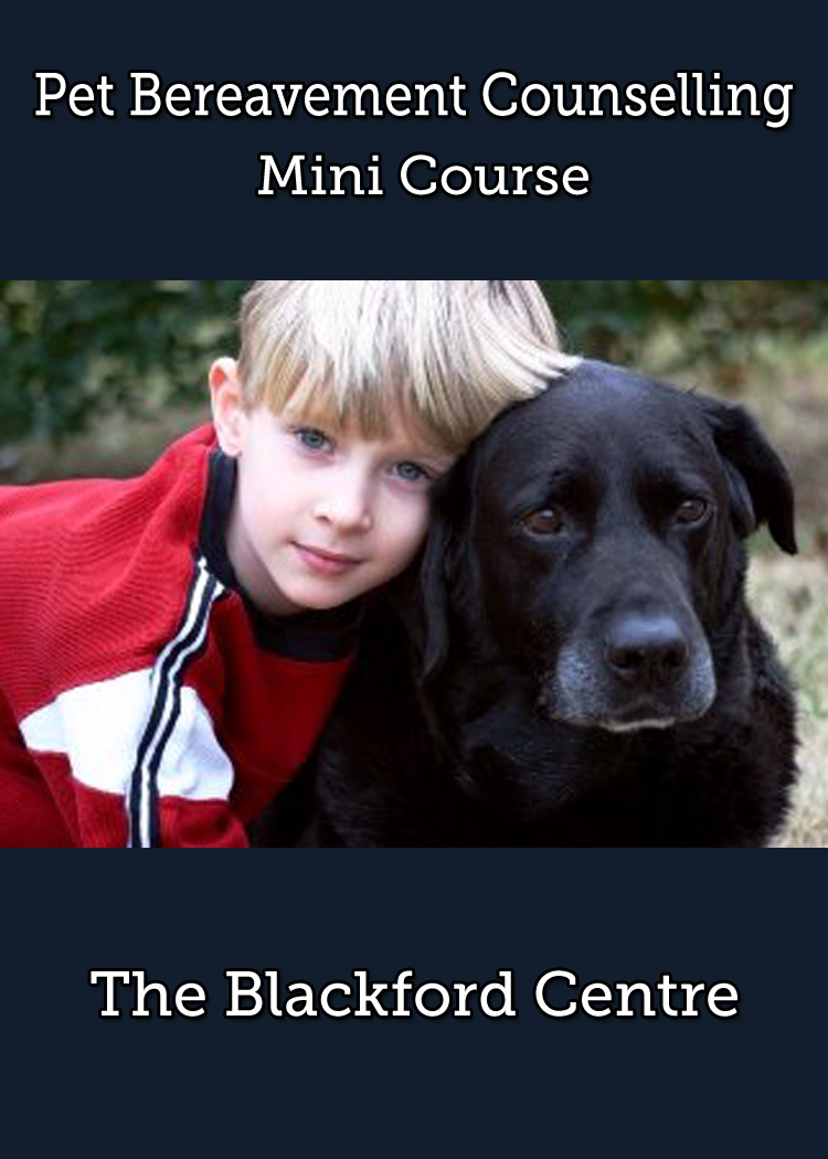 Pet Bereavement Course brochure