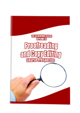 Proofreading Course brochure