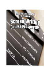 Screenwriting Course brochure