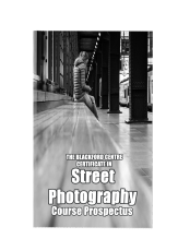 Street Photography Course brochure
