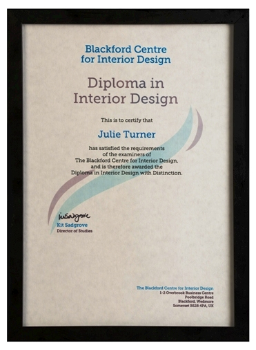 The Diploma in Interior Design