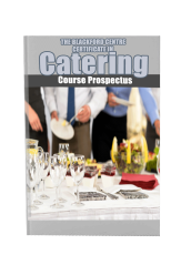 Catering Course brochure