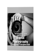 Digital Photography Course brochure