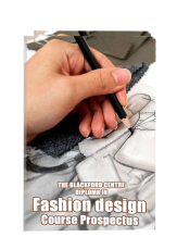 Fashion Design Course brochure