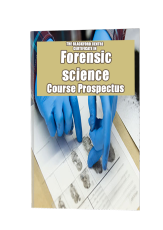 Forensics Course brochure